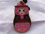 Disney Trading Pin 101913: Nesting Dolls Mini Pin Pack - Flora Only