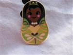 Disney Trading Pin 101919: Nesting Dolls Mini Pin Pack - Tiana Only