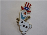 Disney Trading Pin 101982 DSSH - 4th of July Olaf Surprise Release