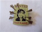 Disney Trading Pin 102076: Flynn Wanted Poster