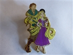 Disney Trading Pin  102079: Rapunzel and Flynn Tangled in her Hair