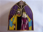 Disney Trading Pin 102085: Disney Store UK - Sleeping Beauty Stained Glass Pin - # 2 of 4