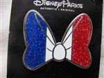 Disney Trading Pin 102187 DLP - Minnie's bow as flag of France