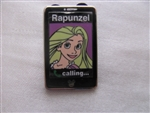 Disney Trading Pin 102256: WDW - 2014 Hidden Mickey Series - Princess Mobile Phones - Rapunzel