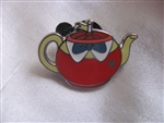 Disney Trading Pin 102283: DLR - 2014 Hidden Mickey Series - Alice in Wonderland Teapots - Tweedle Dee & Tweedle Dum