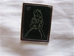Disney Trading Pin 102286: DLR - 2014 Hidden Mickey Series - Chalk Sketches - Alice