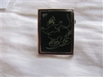 Disney Trading Pin 102290: DLR - 2014 Hidden Mickey Series - Chalk Sketches - Ursula