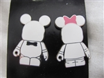 Disney Trading Pin 102546: Vinylmation Blank and Bow (2 Pin Set)