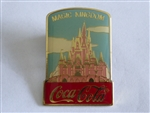 Disney Trading Pin 1027 WDW - Cast 15th Anniversary Coca-Cola Framed Set (Magic Kingdom Cinderella Castle)