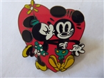 Disney Trading Pin 102775: Mickey Mouse & Minnie Mouse Kiss