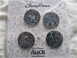 Disney Trading Pins  102848: Alice Sketch Booster Set