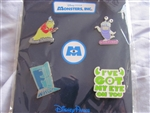 Disney Trading Pin 102940: Monsters, Inc Booster