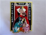 Disney Trading Pin 103396: All Tricks, No Treats – Queen of Hearts