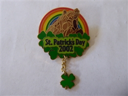 Disney Trading Pin DCA - St. Patrick's Day 2002