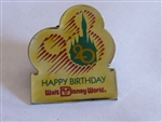 Disney Trading Pin  1045 WDW - Happy 20th Birthday (Gold)
