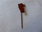 Disney Trading pins 10595 Big Bad Wolf Stick Pin Red