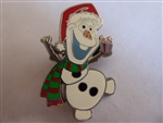 Disney Trading Pin 106274: Olaf in Santa Hat