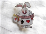 Disney Trading Pin 106299: Alice in Wonderland Stylized Mystery Set - White Rabbit ONLY