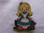 Disney Trading Pin 106305: Alice in Wonderland Stylized Mystery Set - Alice ONLY