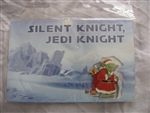 Disney Trading Pin  106450 Silent Knight, Jedi Knight Postcard & Pin Set
