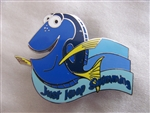 Disney Trading Pin 106538: Dory - Just Keep Swimming