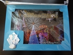Disney Trading Pin 106569 WDW - Hollywood Studios Frozen Holiday Premium Dessert Package - Pin & Lithograph Set