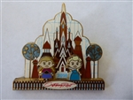 Disney Trading Pin 106614: WDW - Gingerbread House Collection 2014 – Contemporary Resort (Anna & Elsa)