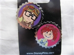 Disney Trading Pin 106642: Carl and Ellie as Kids