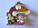 Disney Trading Pin 106684 DSSH - Wreck it Ralph Thanksgiving 2014 (Surprise Release)