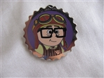Disney Trading Pin 106865: Carl and Ellie Bottle Caps (2 Pin Set) - Carl ONLY