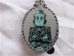 Disney Trading Pin 106947 Haunted Mansion Glow In The Dark Mystery Set - Man With Bowler Hat ONLY
