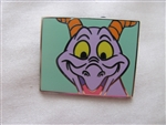 Disney Trading Pin 107060: WDW - Figment Close-Up Mystery Collection - Head On (Green Background) ONLY