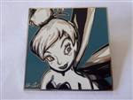 Disney Trading Pin 10715 DLR - Allison Lefcort Color Portrait Boxed Pin (Tinker Bell/Aqua)