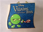 Disney Trading Pin 107218 DSSH - Villains Calendar - January - Sour Bill & King Candy