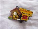 Disney Trading Pin 107333 WDW 2015 Family Fun Run 5K with Pluto - Logo