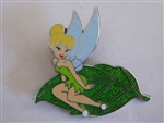 Disney Trading Pin 107344 DLP - Tinker Bell sitting on a leaf