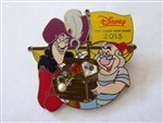 Disney Trading 107412 Chase Visa 2015 - Captain Hook and Smee