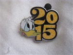 Disney Trading Pin 107582: Disney Parks - 2015 Dated Booster Set - Donald ONLY