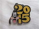 Disney Trading Pin 107584: Disney Parks - 2015 Dated Booster Set - Goofy only