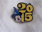 Disney Trading Pin 107585: Disney Parks - 2015 Dated Booster Set - Sorcerer Mickey ONLY