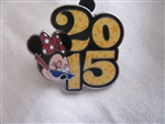 Disney Trading Pins 107586: Disney Parks - 2015 Dated Booster Set - Minnie ONLY