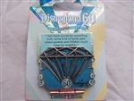 Disney Trading Pin   107708 DLR - 60th Anniversary Countdown Series - Blue