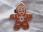 Disney Trading Pin  107860 Star Wars Gingerbread Mystery Collection - C-3PO ONLY