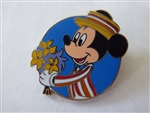 Disney Trading Pin 107999: Mickey & Minnie as Mary Poppins & Bert (2 Pin Set) - Mickey ONLY