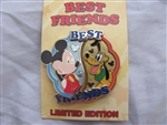 Disney Trading Pin 108212 Best Friends Series - Mickey and Pluto (2 pin set)