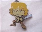 Disney Trading Pin 108415: Cute Star Wars Mystery Pin - Luke only