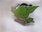 Disney Trading Pin 108419: Cute Star Wars Mystery Pin - Yoda only
