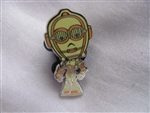 Disney Trading Pin 108420: Cute Star Wars Mystery Pin - C-3PO only