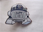 Disney Trading Pin 108421: Cute Star Wars Mystery Pin - R2D2 only