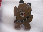 Disney Trading Pin 108424: Cute Star Wars Mystery Pin - Chewbacca only